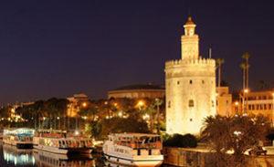 Guided visits in Seville. Torre del oro sevilla